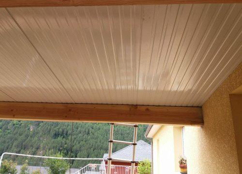 toiture en bac acier isolé  Lotissement la Combe